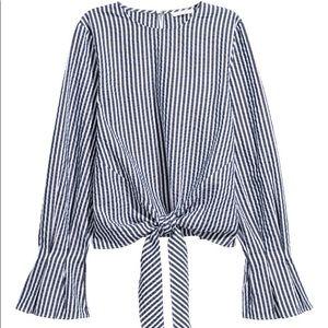 H&M Pencil Striped Top
